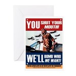 You Shut Up Greeting Cards (10 Pk)