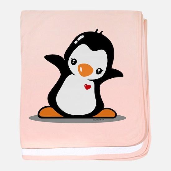 Hey Penguin! baby blanket