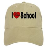 I Love School Cap
