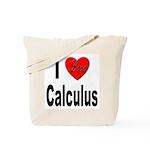 I Love Calculus Tote Bag