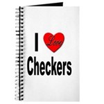 I Love Checkers Journal