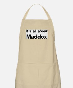 It's all about Maddox BBQ Apron