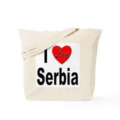 I Love Serbia Tote Bag