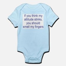 Attitude Stinks Infant Creeper