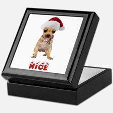 Nice Chihuahua Keepsake Box