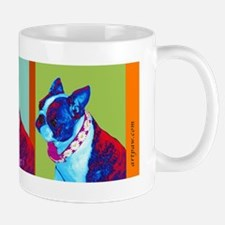 Boston Terrier Art Mug
