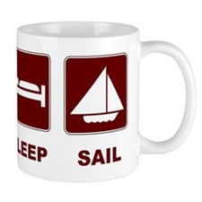 Eat Sleep Sail Mug