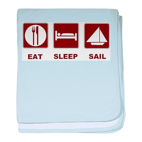 Eat Sleep Sail Infant Blanket