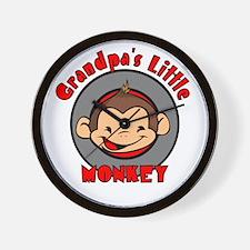 Grandpa's Little Monkey Wall Clock