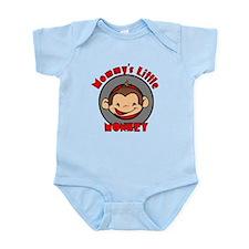 Mommy's little monkey (boy) Infant Bodysuit