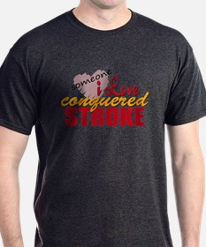 Someone I Love Conquered Stroke T-Shirt