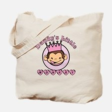 Daddy's Little Monkey (girl) Tote Bag