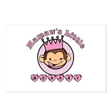 Mamaw's Little Monkey (girl) Postcards (Package of