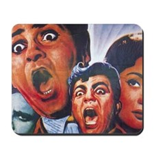 Vintage Bollywood Poster Style Mousepad