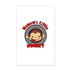 Mamaw's Little Monkey (boy) Posters