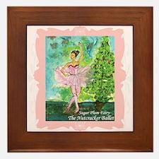 Ballerina Framed Tile