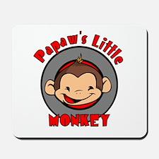 Papaw's Little Monkey (boy) Mousepad