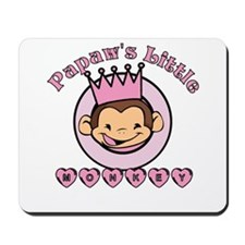 Papaw's Little Monkey (girl) Mousepad