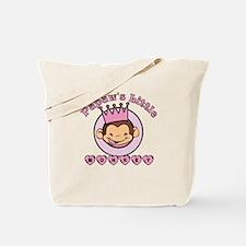 Papaw's Little Monkey (girl) Tote Bag
