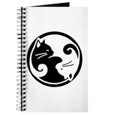 Yin Yang Cat Journal