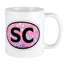 Surf City NC - Oval Design Mug