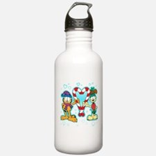 Garfield Candy Cane Heart Water Bottle