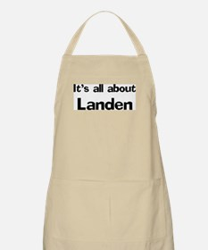 It's all about Landen BBQ Apron