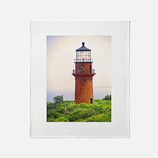 Gay Head Lighthouse Throw Blanket