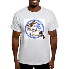 Run Rabbit Ash Grey T-Shirt