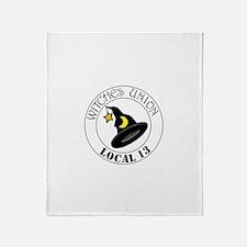 Witches Union Throw Blanket