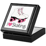 Roller skating Keepsake Boxes