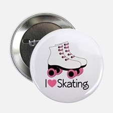 "I Love Skating 2.25"" Button"
