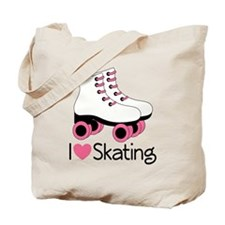 I Love Skating Tote Bag