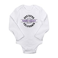 Napa Valley California Long Sleeve Infant Bodysuit