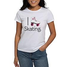 I Love Roller Skating Tee