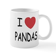 I heart pandas Mug