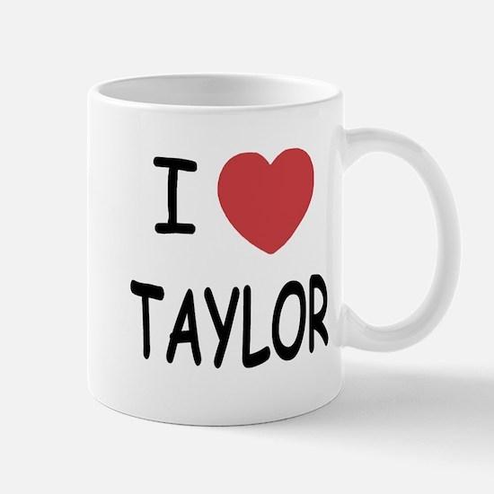 I heart taylor Mug