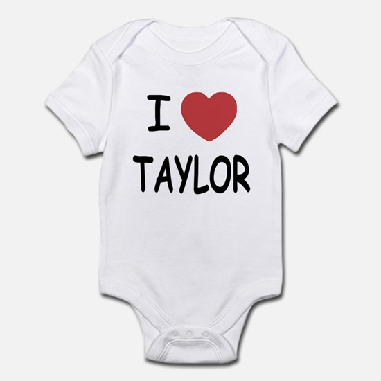 I heart taylor Infant Bodysuit