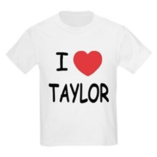 I heart taylor T-Shirt