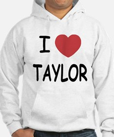 I heart taylor Hoodie