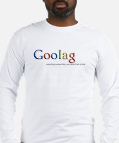 Goolag, Exporting Censorship, Long Sleeve T-Shirt