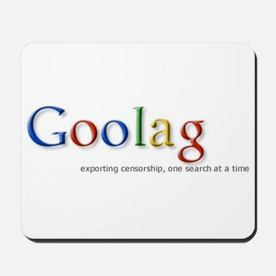 Goolag, Exporting Censorship, Mousepad
