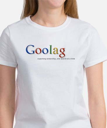 Goolag, Exporting Censorship, Women's T-Shirt