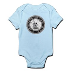 Int'l Assoc. of Dreidel Spinners Infant Bodysuit
