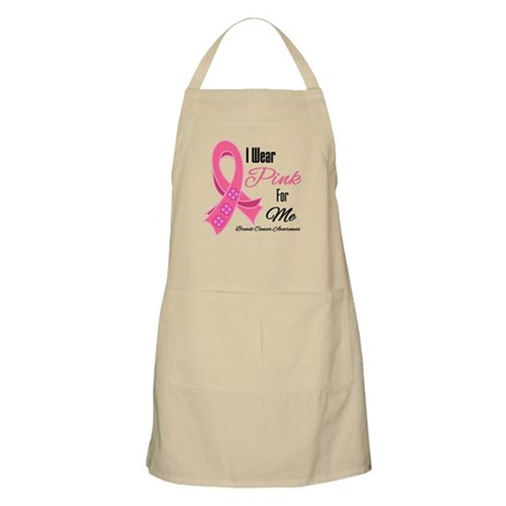 I Wear Pink For Me Apron