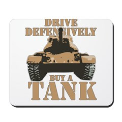 Drive Defensively Mousepad