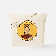 Bibliophile Seal w/ Text Tote Bag