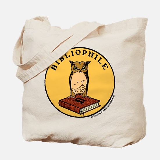 Bibliophile Seal w/ Text Tote Bag