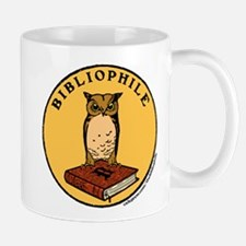 Bibliophile Seal w/ Text Mug