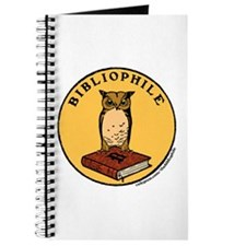 Bibliophile Seal w/ Text Journal
